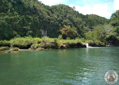 Final del trayecto del crucero por el río Loboc
