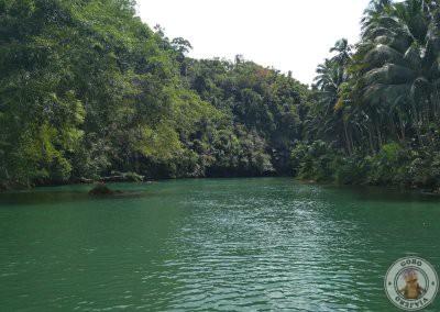 Paisaje del río Loboc