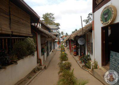 La calle principal de Corong Corong - Sunset Avenue