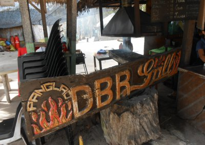 DBR Grill en Dumaluan Beach
