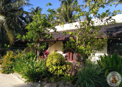Habitaciones con terraza en Villa Pagoda