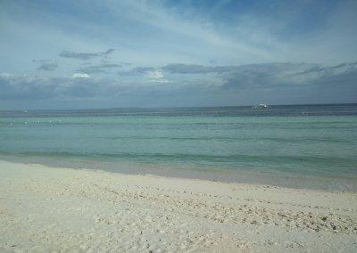 Nuestra primera playa en Filipinas
