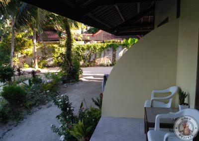 Terraza de nuestra habitación