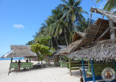 Casetas para comer en Daku Island