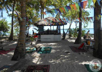 Chiringuito en Guyam Island