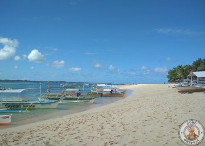 Bangkas en Daku Island