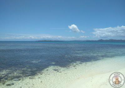 El agua en Naked Island