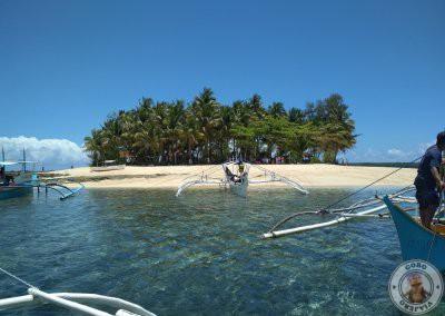 Llegada a Guyam Island