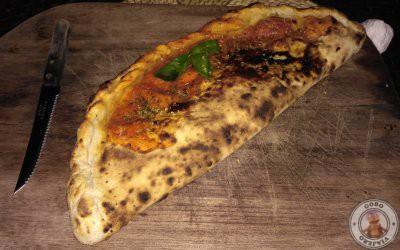Cena en Kermit Siargao, pizzas al horno