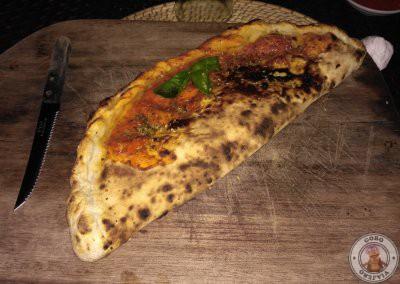 Pizza calzone sabank