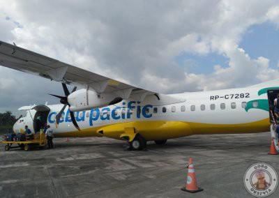 Vuelo entre Cebú y Siargao con Cebu Pacific