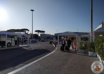 Aeropuerto Ciampino, parada de autobús Terravision