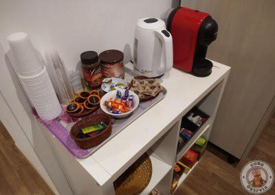 Café gratis para huéspedes