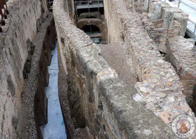Visita guiada al Coliseo en español con acceso a la arena y a los subterráneos