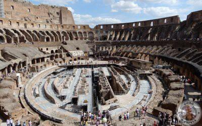 Visita guiada al Coliseo con los subterráneos y la arena