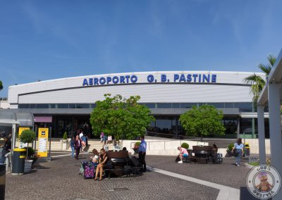 Exterior del Aeropuerto Roma Ciampino