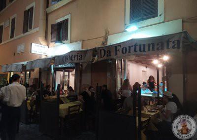 Osteria Da Fortunata, restaurante principal