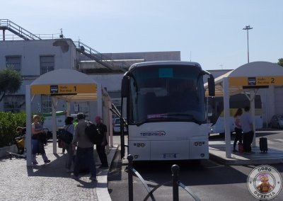 Parada número 1 del bus Terravision en el Aeropuerto Ciampino