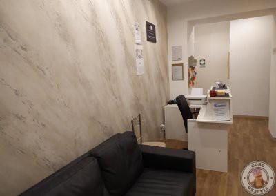Recepción de nuestro hotel en Roma - Rione Monti Suites