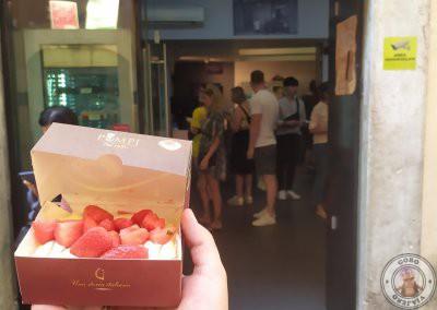 Tiramisú de fragola (fresa) de Pompi