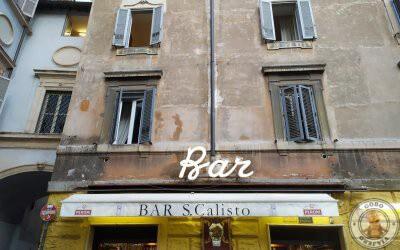 Tomar algo en Trastevere, Bar San Calisto
