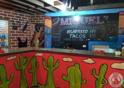 Dónde comer en Siargao - Miguel Taqueria y cerveceria