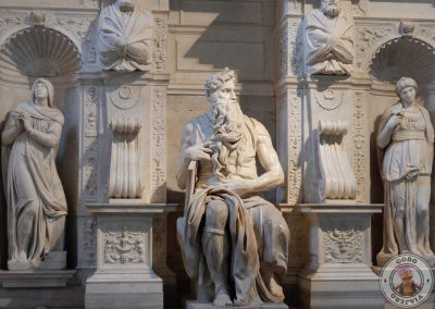 El Moisés de Miguel Ángel en San Pietro in Vincoli