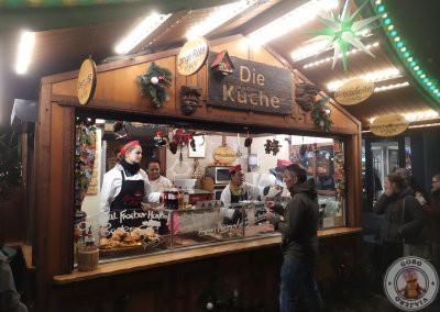 Puesto de Lange Rote en el mercado Kartoffelmark