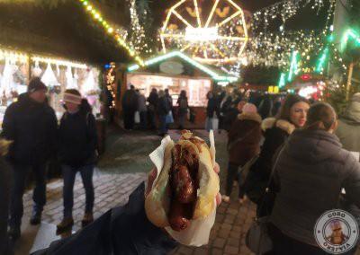 Lange Rote en el mercado Kartoffelmark