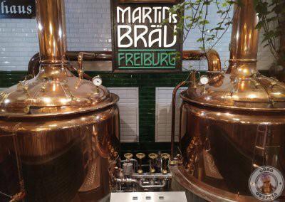 Dónde comer en Friburgo, cervecería Martin's Bräu