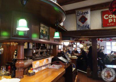 Interior de Brasserie Schwendi. Dónde comer en Colmar, Brasserie Schwendi