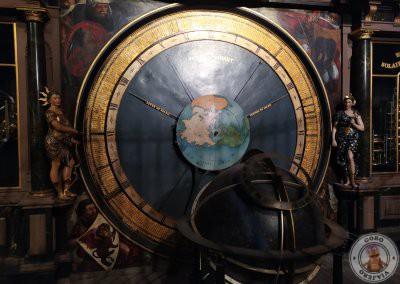 Detalles del Reloj astronómico