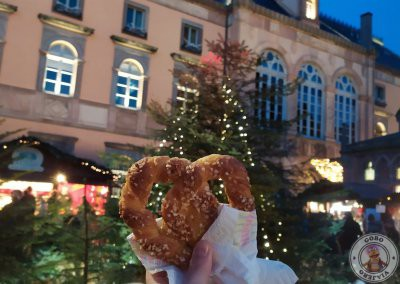 El mejor bretzel que hemos comido en Alsacia y en Selva Negra