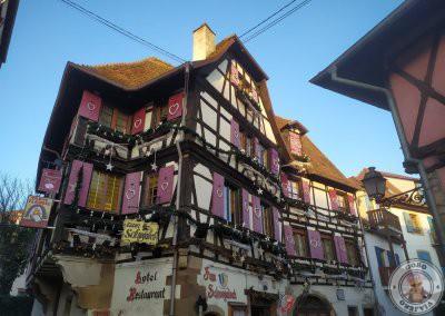 Fachada del restaurante Zum Schnogaloch en la calle l'Étoile