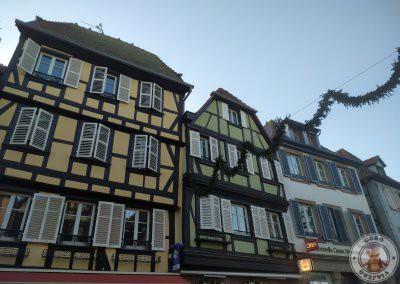 Fachadas en la calle Rue Chanoine Gyss