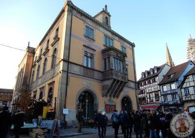 Hotel de Ville, visto desde Place du Marché