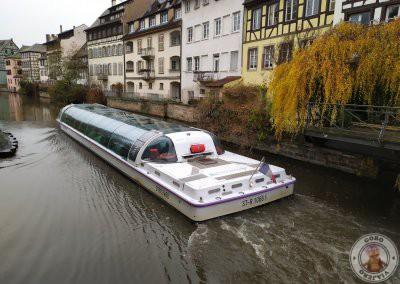Barco de Batorama por la Petite France