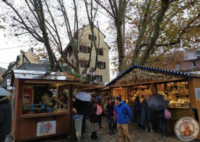 Mercado de Navidad de Place Benjamin Zix