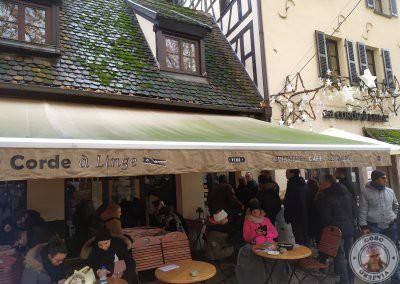 Donde comer en Estrasburgo - Restaurante La Corde a Linge
