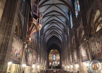 Interior de la Catedral de Estrasburgo