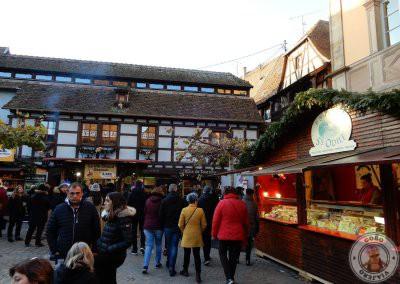 Mercado de Navidad de la Place Beffroi