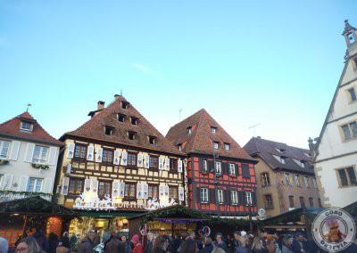 Mercado de Navidad de la Place du Marché (Plaza del Mercado)