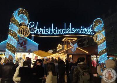 Mercado de navidad de Place Brogile