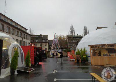 Mercado de navidad de la Place Grimmeisen, un mercado alternativo