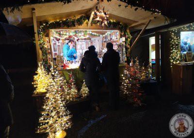 Puesto en el Mercado de Navidad de Ravennaschlucht