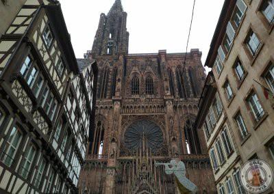 Vistas de la Catedral desde Rue Mercière