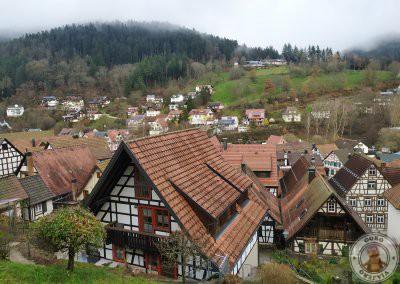 Vistas desde la parte alta del pueblo