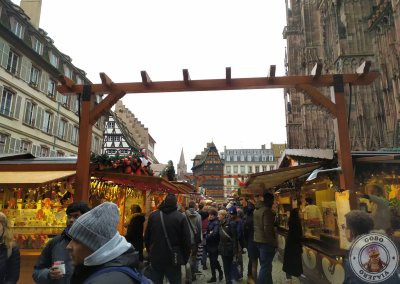 Mercado de Navidad Place de la Cathédrale