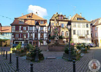 Place de la Sinne y Fuente de Friedrich