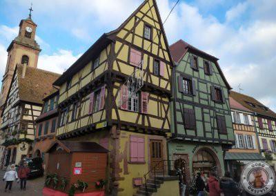 Las preciosas casas del pueblo